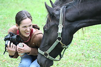 Christy and horse